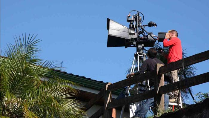The newest 3Ality 3D camera assembled by Imagica Corporation was tested in Costa Rica 2010