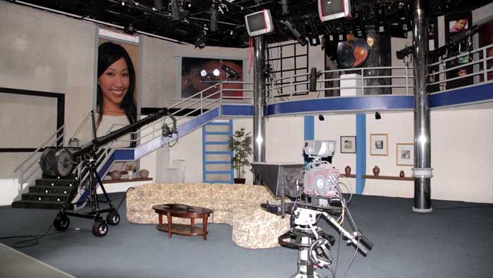 We rent full SOUNDPROOF studios for Corporate, TV shows, interviews, with or without satellite feeds