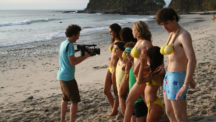 Beach Scene at Playa Blanca on the Pacific Ocean for the French Production Company EL NIÑO 2009.